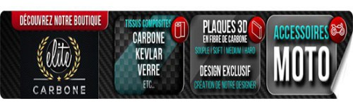 PLAQUE en CARBONE